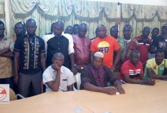 Conférence de presse de la coalition des chauffeurs : « Nous ne sommes pas contre Issouffou Maïga, mais sa gestion », Ambroise Ouédraogo