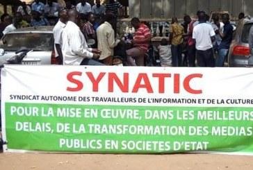 Problèmes dans les médias d'Etat: Le SYNATIC a rencontré le DG de la RTB
