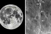 La Lune rétrécit «comme un raisin sec», révèle la NASA