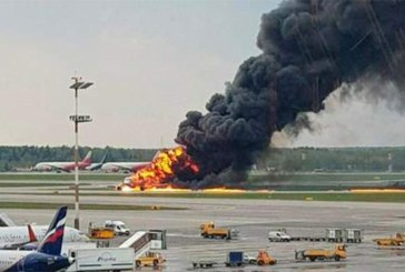 Au moins 13 morts lors de l'atterrissage d'urgence d'un avion à Moscou ( Vidéo)