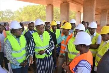 Burkina : Le Premier ministre « très déçu » de l'exécution d'un chantier routier à Ouagadougou