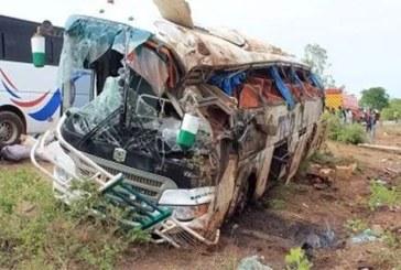 Route nationale n°1 : Trois morts et 46 blessés dans un accident de la circulation d'un car TSR