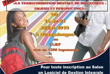Communiqué sur la 3eme édition du salon international des écoles, lycées et universités du Burkina (SIELUB)