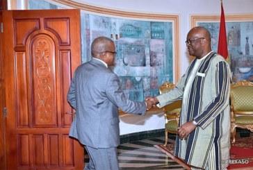G5 Sahel : le secrétaire permanent rend compte au président du Faso