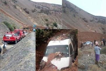 Maroc : 15 morts dans l'éboulement de terrain dans le sud du pays