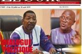 Médias: La Une du dernière numéro du Journal Le Soir Vox Populi