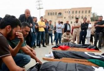 Libye: Un camp de migrants bombardé près de Tripoli, 40 morts et 80 blessés