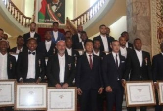 CAN 2019 : Les joueurs malgaches élevés au rang de chevaliers