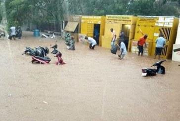 Burkina : «Il y a eu une inondation superficielle, la situation est maîtrisée, les avions vont et viennent»