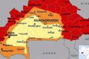 Coup de gueule à propos de ces cartes du Burkina colorées rouge par les occidentaux