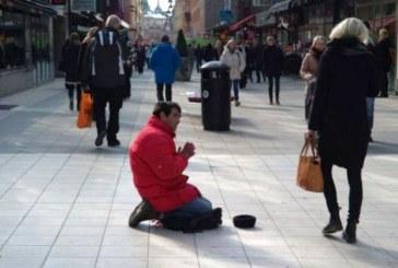 Une ville suédoise instaure un permis payant pour mendier