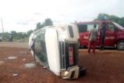 Réo: Accident d'une ambulance transportant des malades