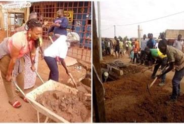 Au Burkina Faso, des citoyens obligés de nettoyer eux-mêmes les caniveaux de leur quartier
