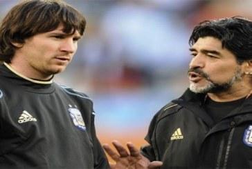 Football: Maradona révèle le secret qu'il a donné à Messi pour tirer des coups francs