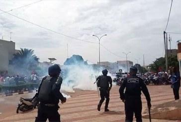 C'est seulement à Ouaga que le gouvernement a bandé les muscles