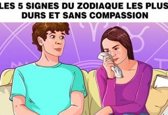 Astrologie : Les 5 signes du zodiaque les plus durs et sans compassion (ils ont un coeur de pierre)