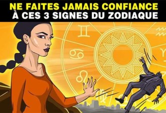 Astrologie : Ne faites jamais confiance à ces 3 signes du zodiaque (ils sont capables de trahison)