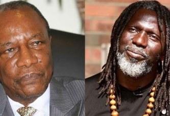 Guinée/affaire de 3e mandat: « Alpha Condé devient fou…. », dixit Tiken Jah-Vidéo