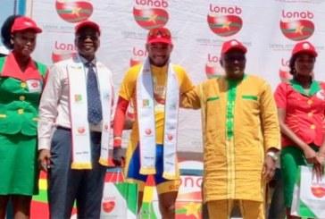 Tour du Faso 2019: L'angolais César do Amaral Bruno, premier maillot