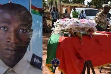 Attaque à Nadiagou, dans la région de l'Est: Le sergent de police Noaga T. Etienne Zongo conduit à sa dernière demeure