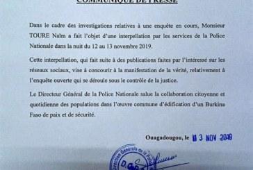 Arrestation de Naïm Touré: La police nationale donne des détails