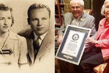 Voici le couple le plus âgé au monde, selon Guinness World Records