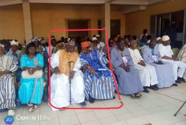 Appel de Manega : arrivée surprise du Larlé Naaba à la cérémonie d'installation du tuteur de l'appel (Hauts-Bassins) Barro Danguinaba