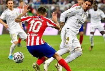 Le Real remporte sa 11e Supercoupe d'Espagne face à l'Atlético Madrid