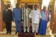 Burkina Faso: Des anciens Présidents d'Assemblée chez le Président Sakandé
