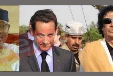 Financement présumé de Sarkozy par Kadhafi : Les fracassantes révélations d'ATT
