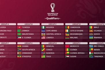 Éliminatoires Mondial 2022 : les équipes africaines fixées sur leurs adversaires
