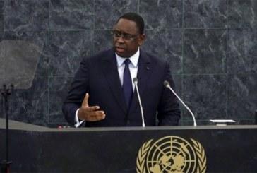 Macky Sall s'adresse à l'ONU : « On ne peut pas régler des problèmes africains sans les Africains »