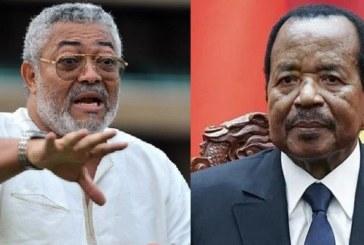 Jerry Rawlings furieux contre Paul Biya, demande une intervention militaire au Cameroun