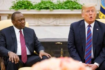 Coopération: Uhuru Kenyatta reçu par Donald Trump à la Maison Blanche