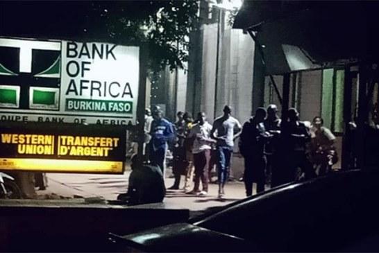 BOA Bobo- Dioulasso : Lourd calvaire pour les clients de retirer de l'argent au GAB en cette période de fin du mois