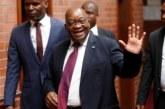 De retour en Afrique du Sud, Jacob Zuma accueilli en héros par ses partisans