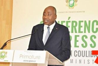 Coronavirus en Côte d'Ivoire: Amadou Gon annonce un plan de soutien de 1700 milliards de Fcfa