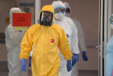 Coronavirus : Vladimir poutine à l'hôpital des maladies infectieuses