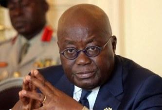 COVID-19 au Ghana : le président Nana Akufo-Addo fait don de son salaire pour lutter contre Coronavirus