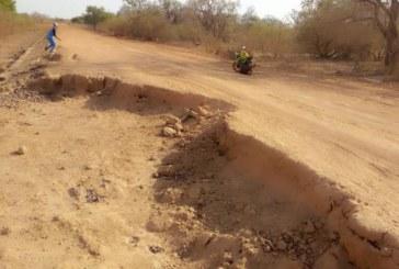 Burkina Faso: La voie Gayérie-Fada très déteriorée