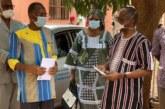 Covid19 : Le MPP fait don d'un Chèque de 5 millions de F CFA au Ministère de la Santé
