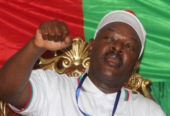 Burundi : Nkurunziza félicite son dauphin