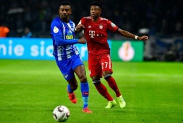 Kalou suspendu par le Hertha Berlin