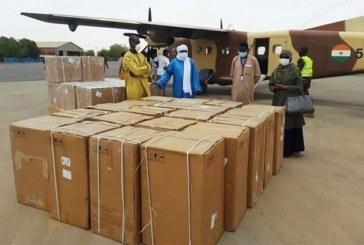 Niger : arrivée à Niamey de 20 respirateurs invasifs de réanimation sur une commande de 50 appareils