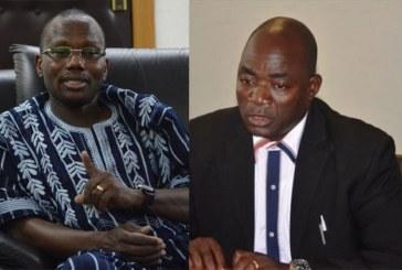 Causerie entre Bassolma Bazié et le ministre Ouaro de l'éducation nationale