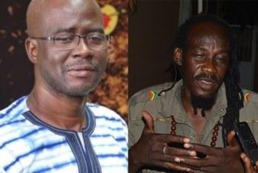 Bob Sana reçu en audience par le ministre de la culture Abdoul Karim Sango