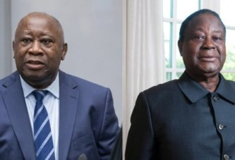 A cinq mois de la présidentielle, Bédié et Gbagbo renforcent leur accord de collaboration (déclaration)
