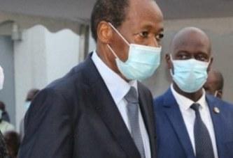 Affecté par la mort d'Amadou Gon, Blaise Compaoré sort de sa cachette