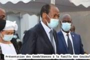 Côte d'Ivoire: Blaise Compaoré aperçu aux obsèques de Gon Coulibaly