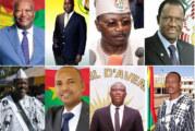 Paroles de  candidats à l'élection présidentielle de novembre 2020